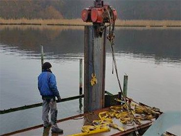 Burchardi Wasserbau Rammung